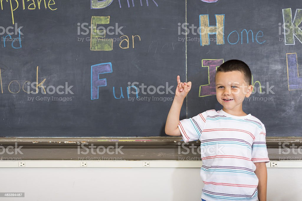 Sign Language Education royalty-free stock photo