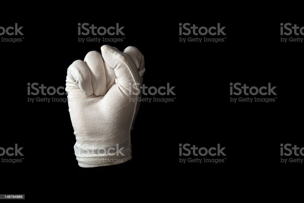 Sign language royalty-free stock photo