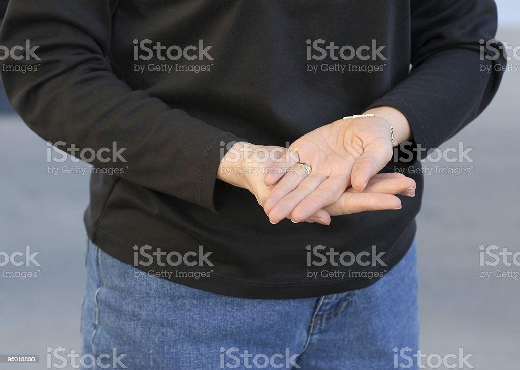 Sign Language stock photo