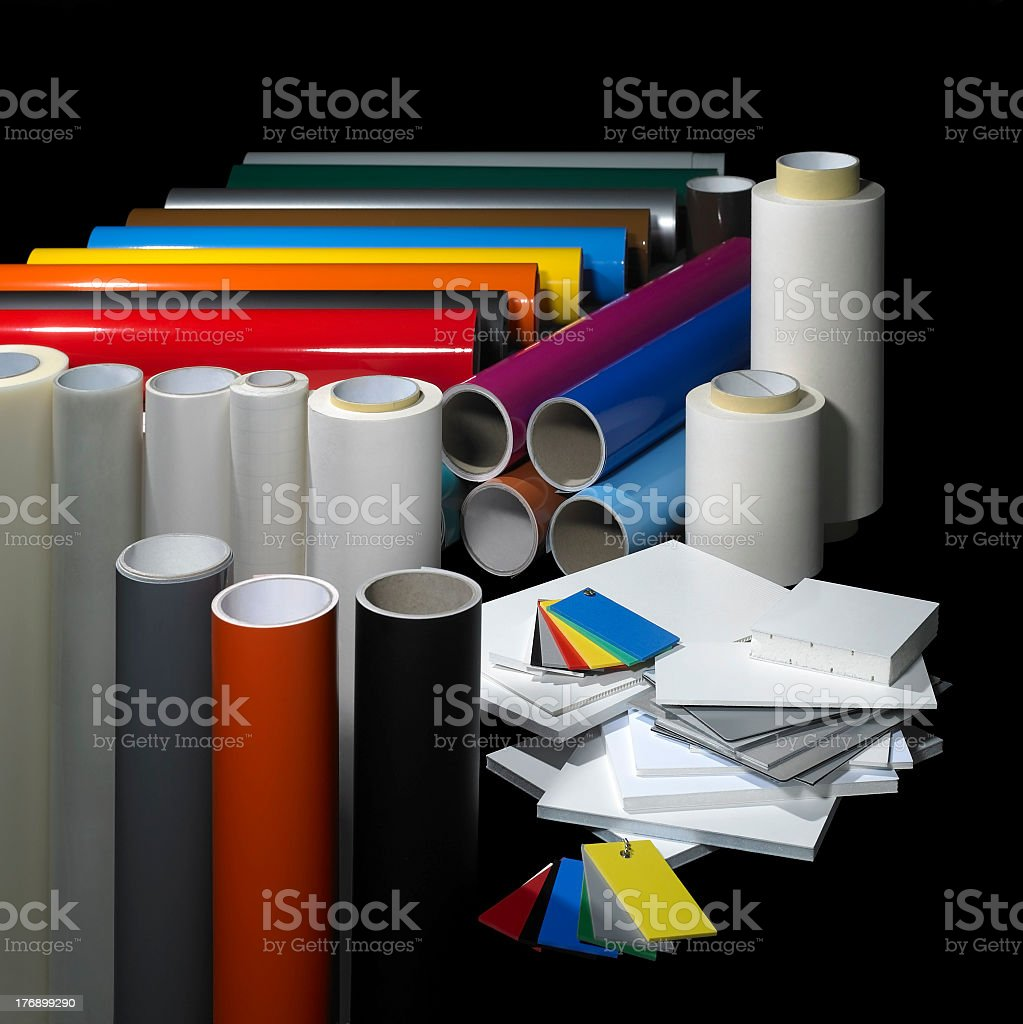 sign making materials royalty-free stock photo