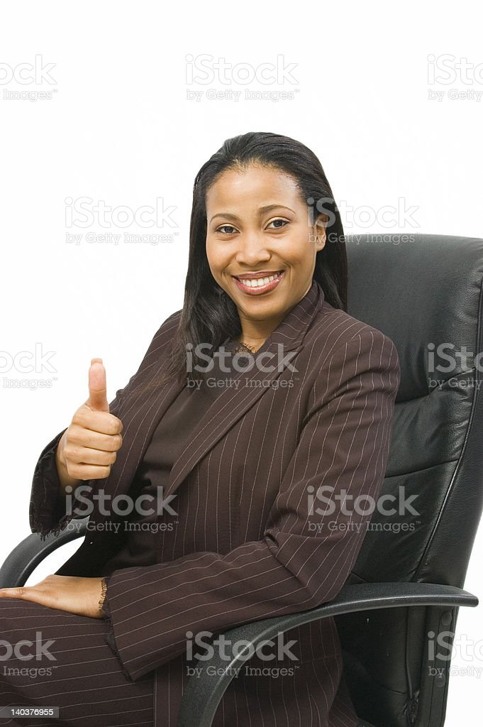Sign of approval royalty-free stock photo