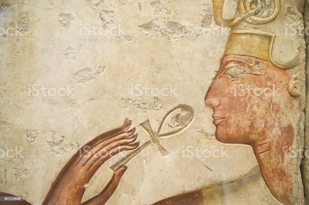 Sign of Egypt royalty-free stock photo