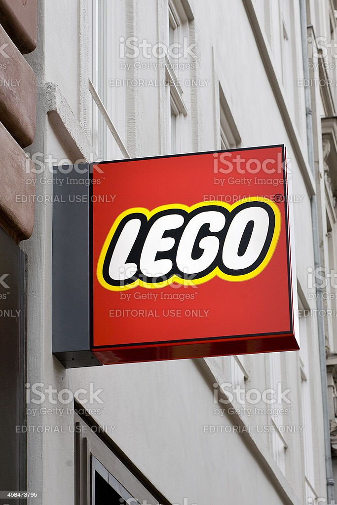 Sign of Lego Store royalty-free stock photo