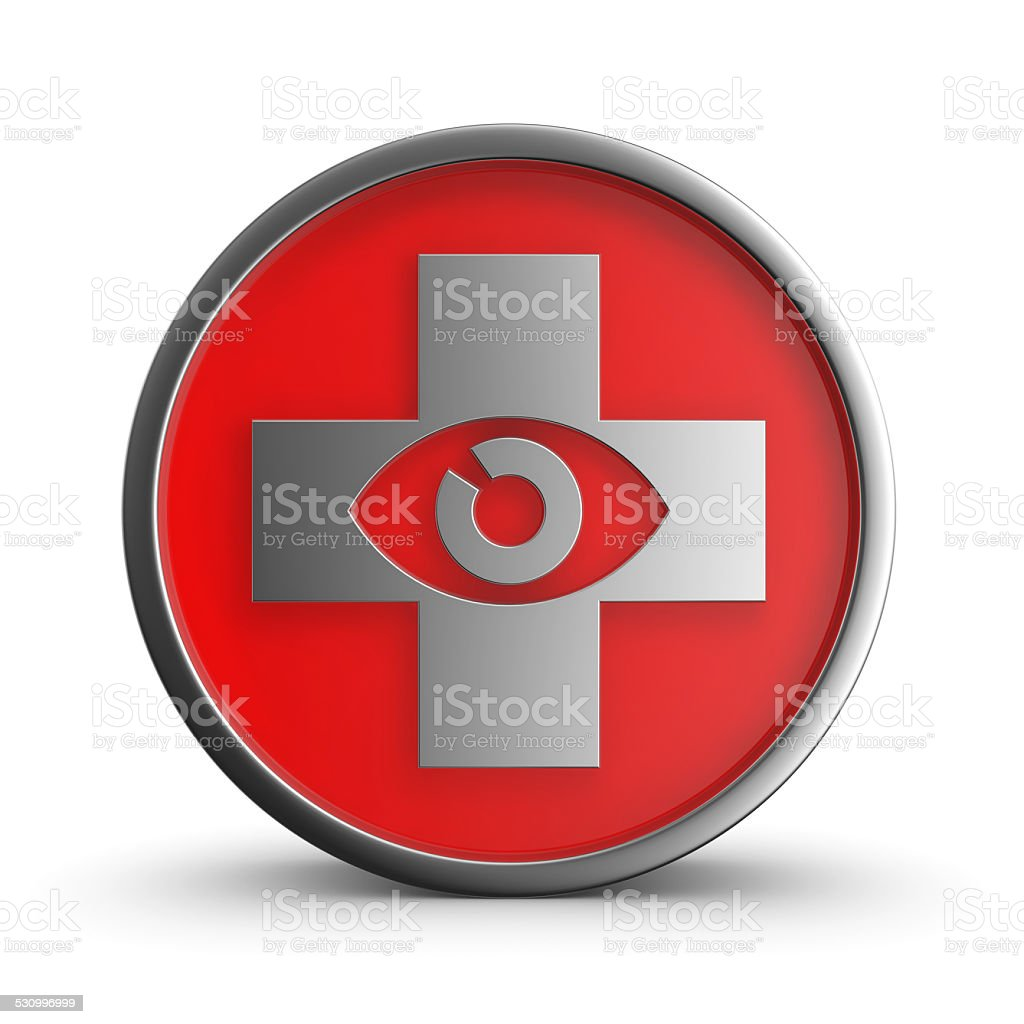 Sign ophthalmologist. royalty-free stock photo