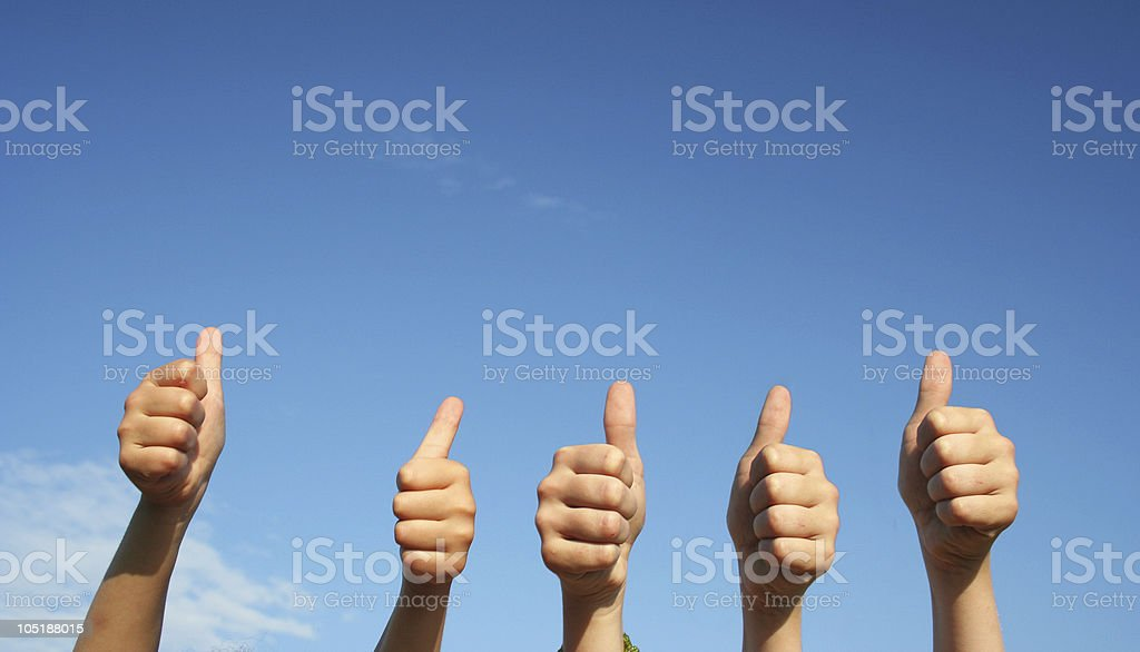 OK  sign. royalty-free stock photo
