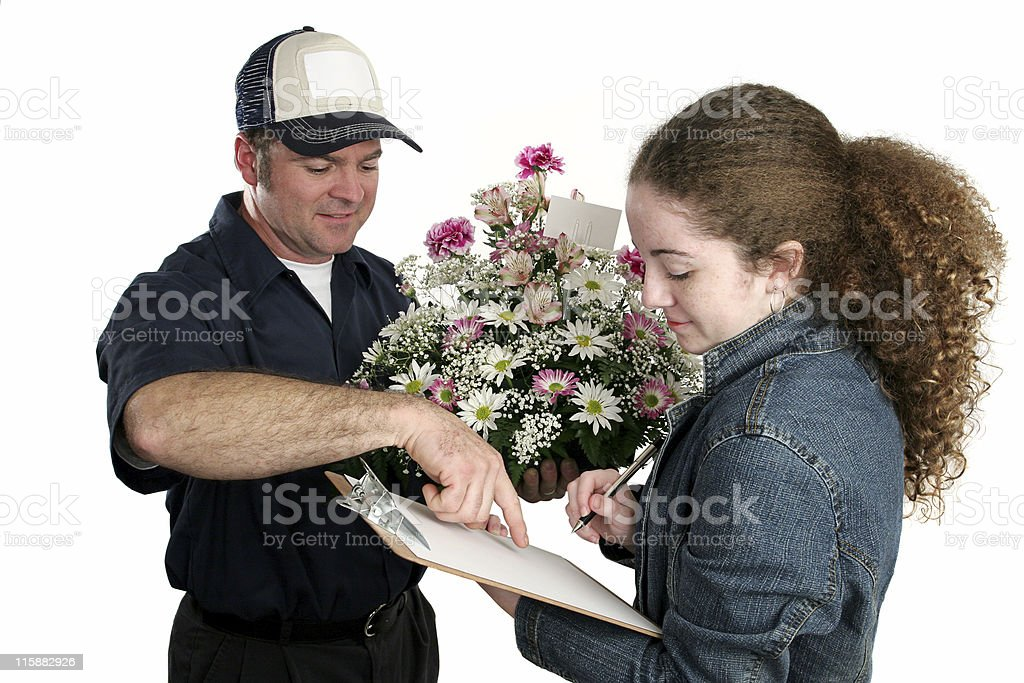 Sign Right Here royalty-free stock photo
