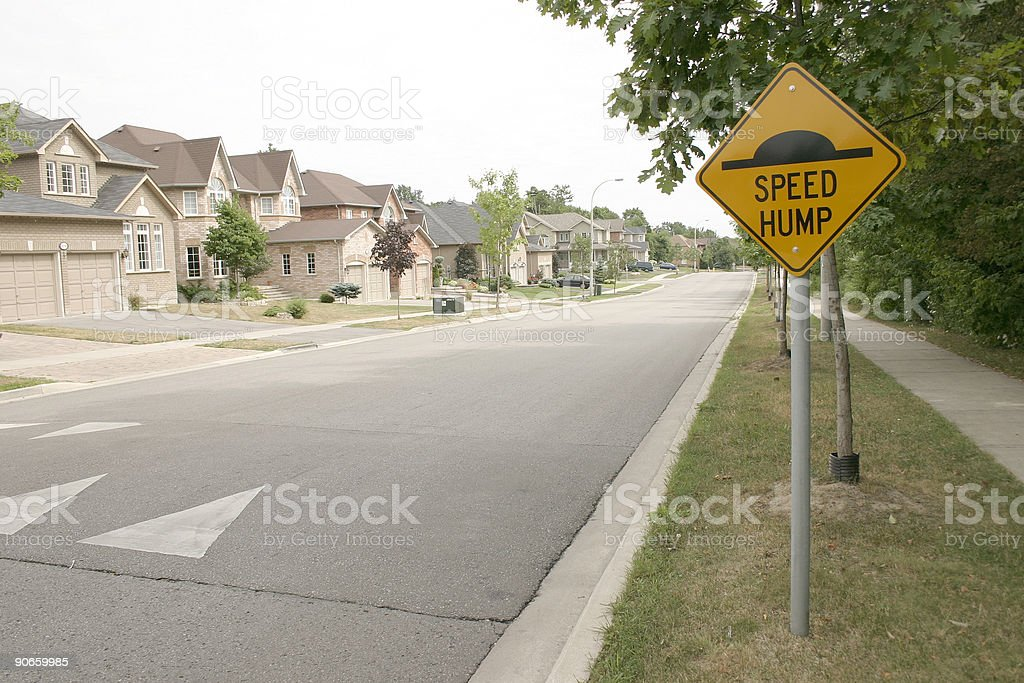 Sign road stock photo