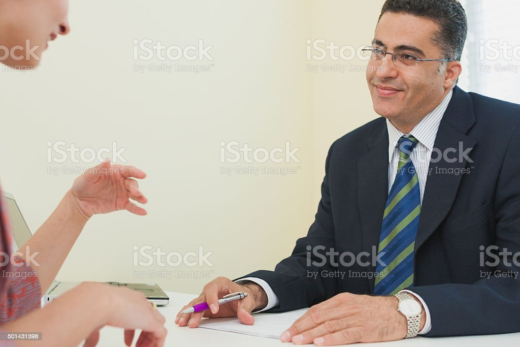 Sign The Contract stock photo