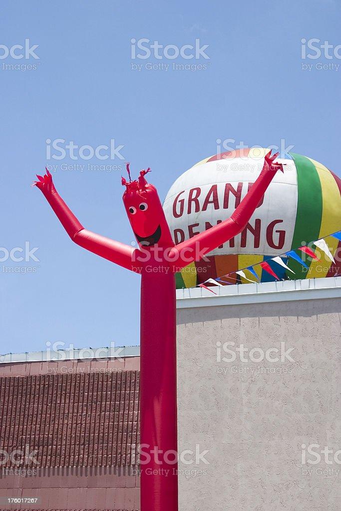Signage - Grand Opening royalty-free stock photo