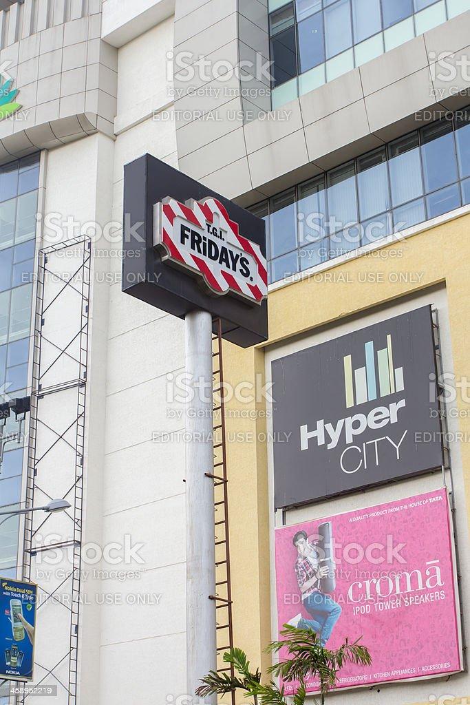 TGIF signage royalty-free stock photo