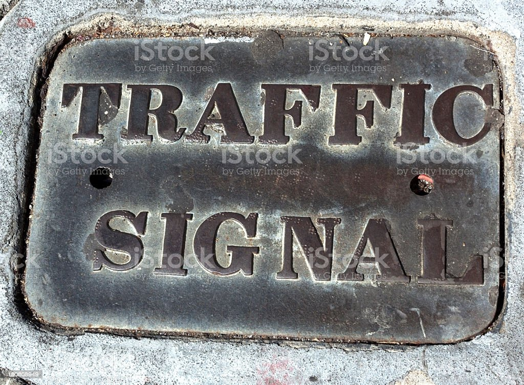 Signal Cover stock photo