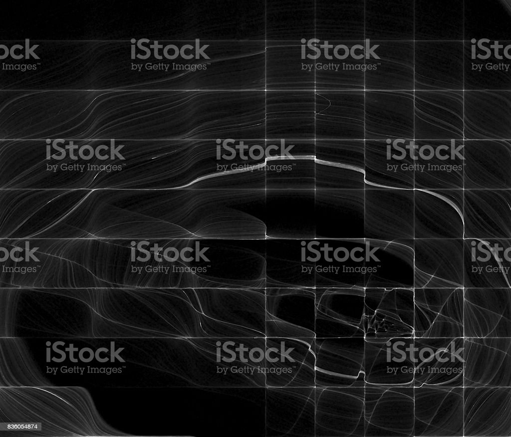 Signal Grid Abstract Screen stock photo