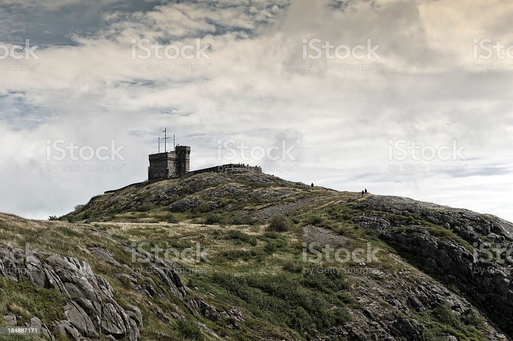 Signal Hill royalty-free stock photo