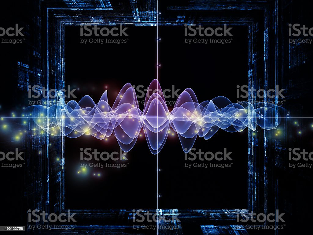 Signal Processing vector art illustration