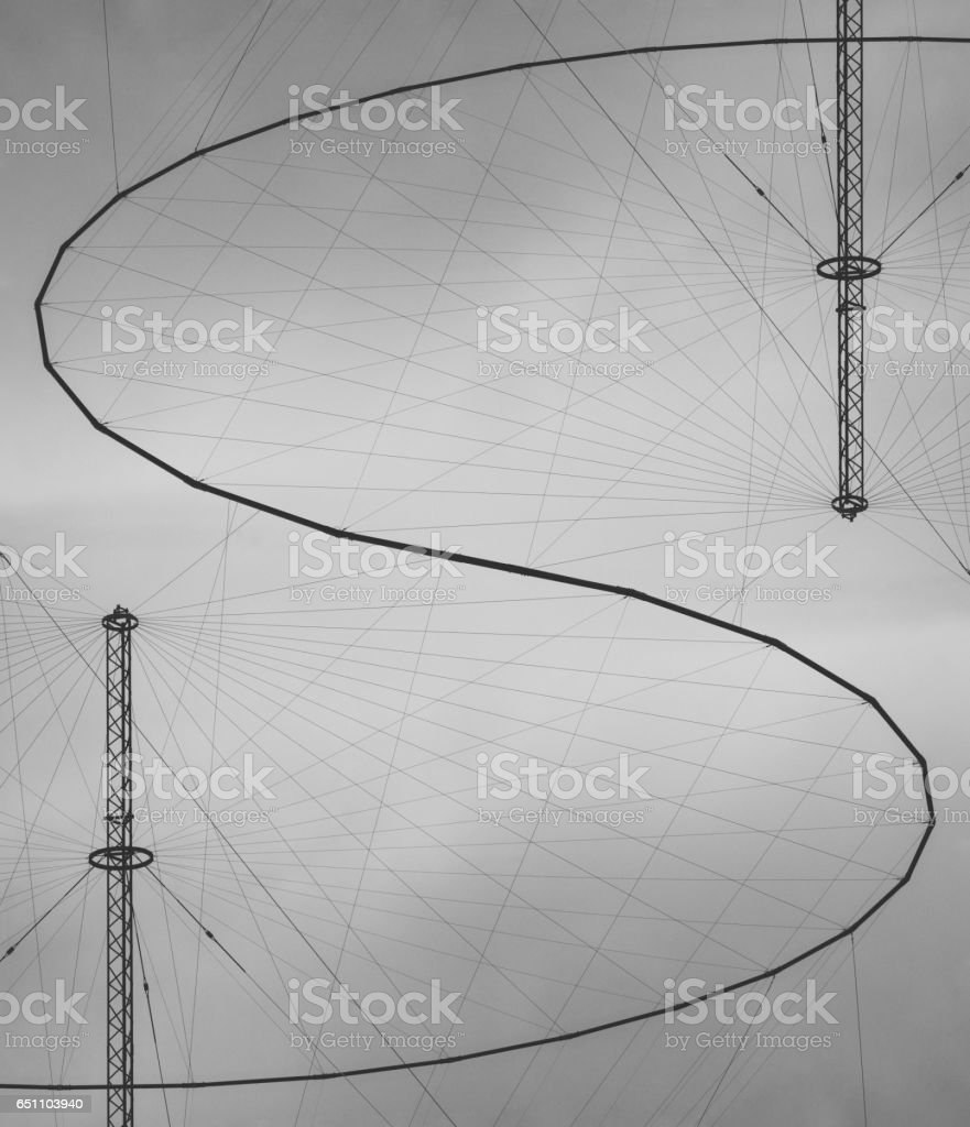 Signal Received stock photo