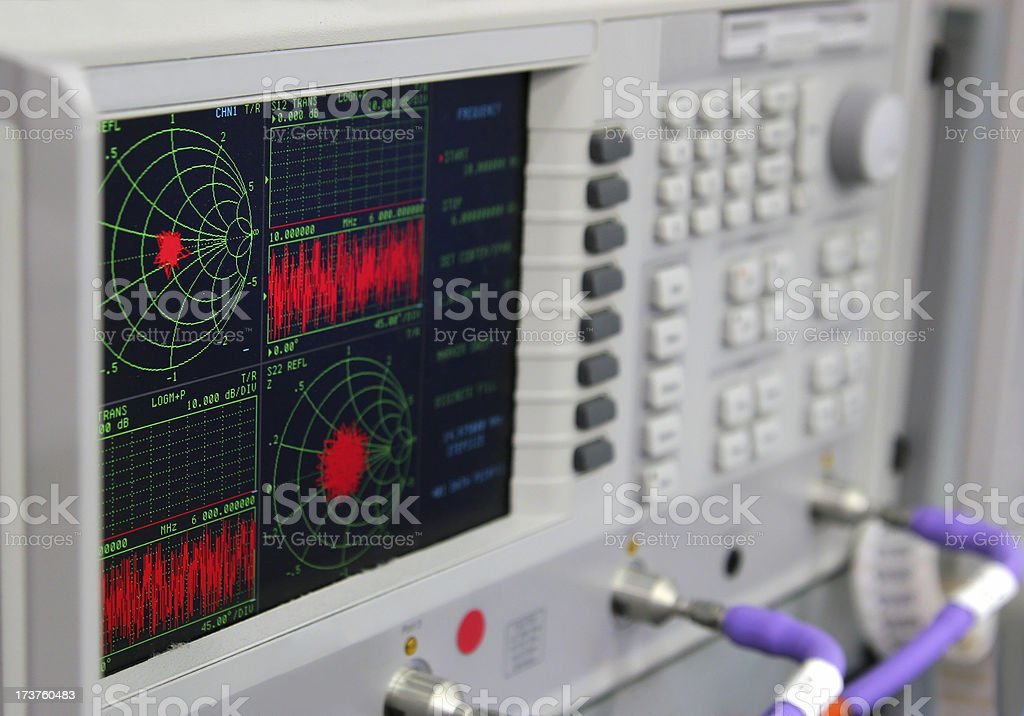 Signal Verification Equipment stock photo