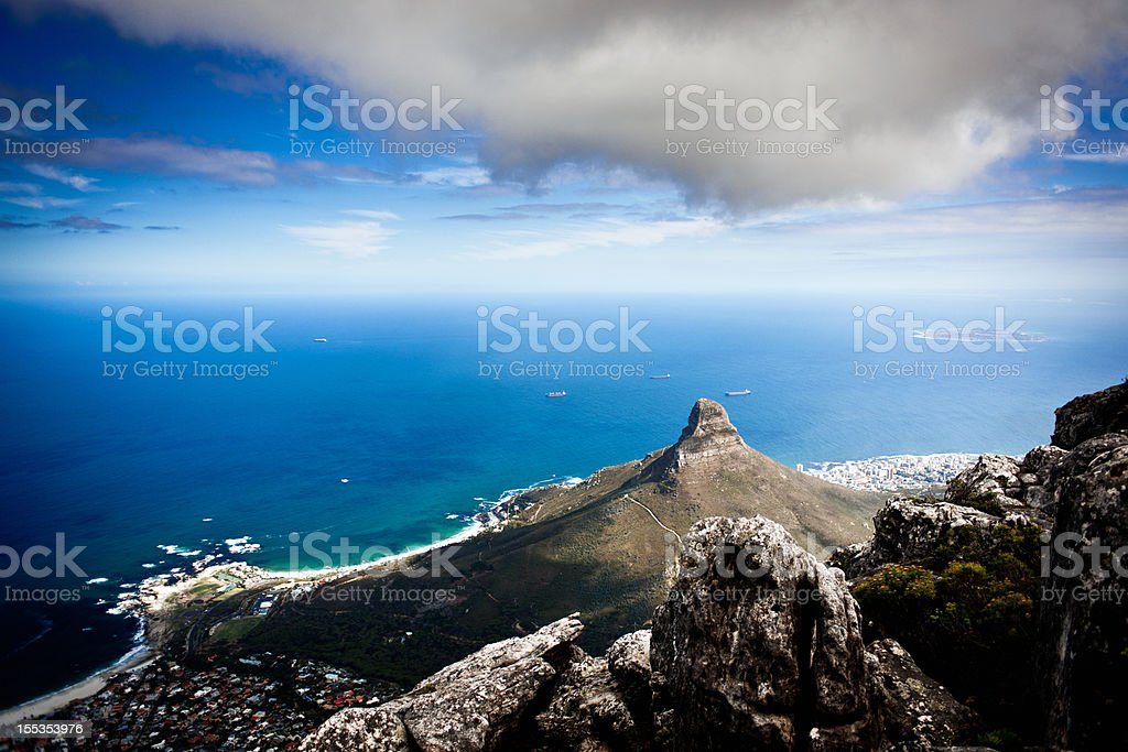 Signall hill from the top stock photo