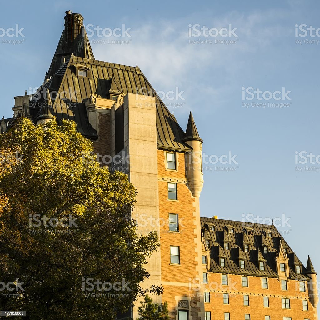Signature Architecture in Saskatoon royalty-free stock photo