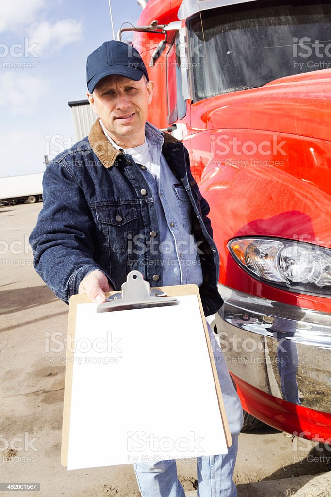 Signature Required royalty-free stock photo