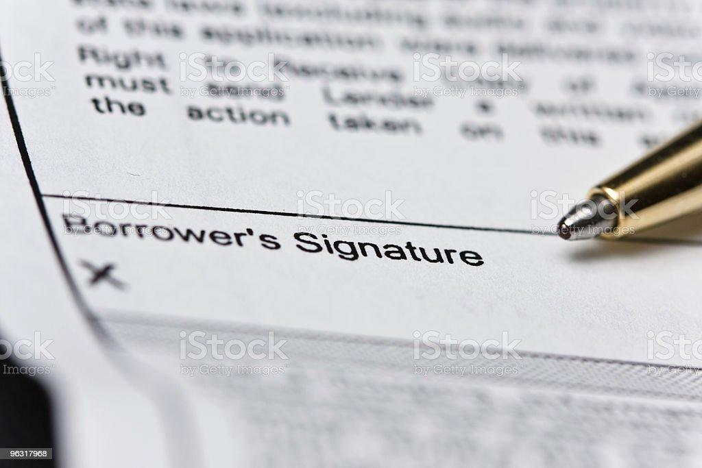 Signature Series royalty-free stock photo