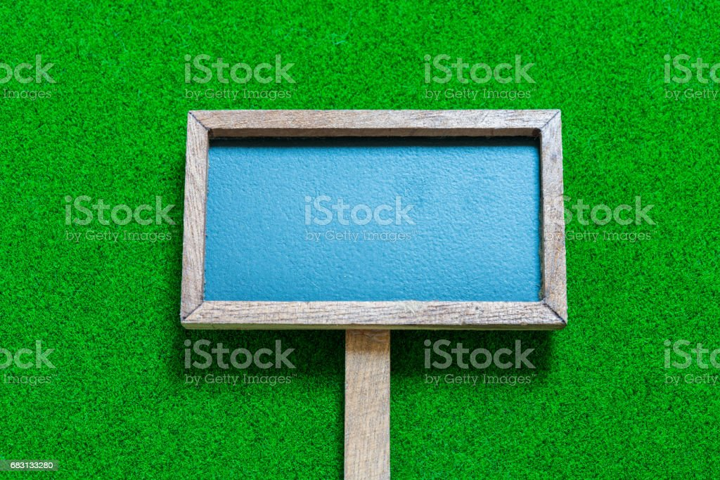 Signboard stock photo