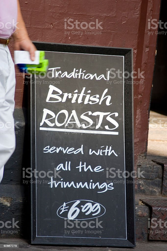Signboard royalty-free stock photo