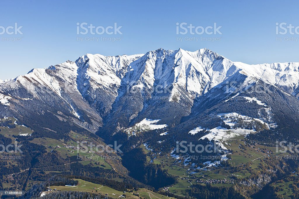 Signina Mountains royalty-free stock photo