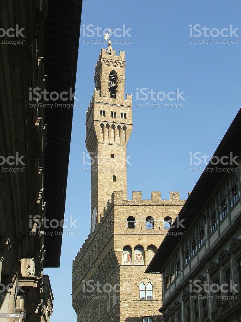 Signoria building royalty-free stock photo