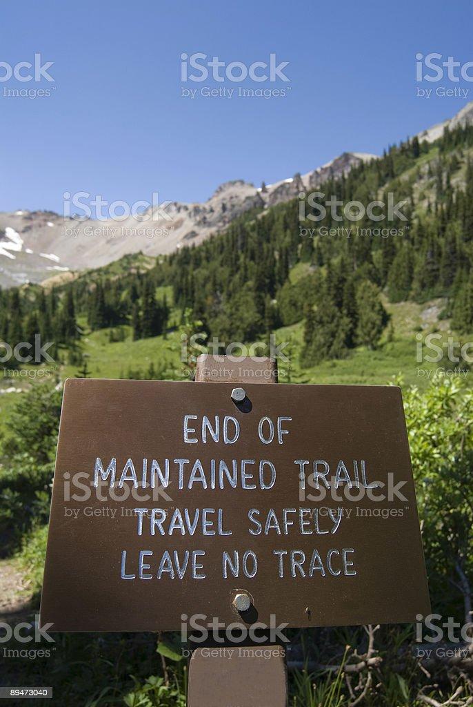 Signpost royalty-free stock photo