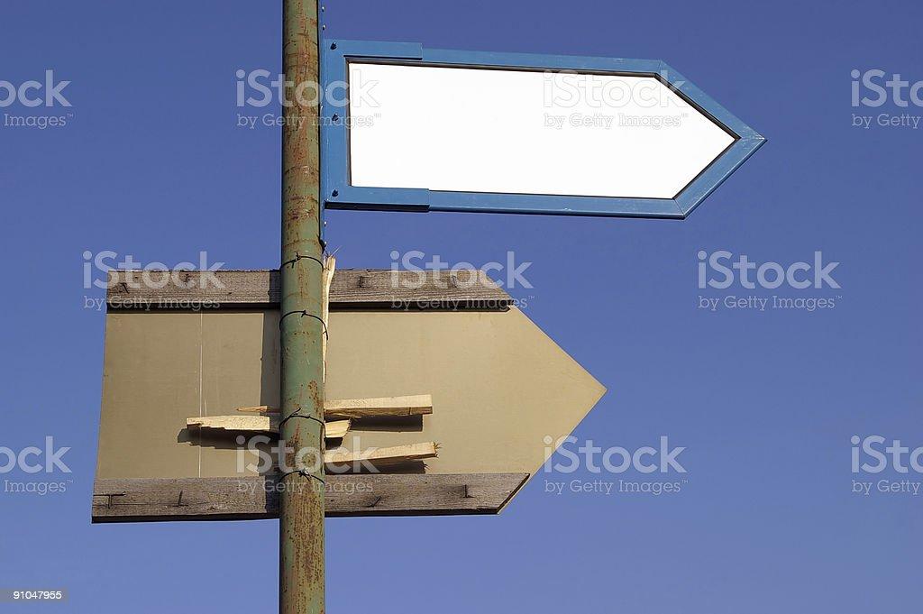 Signposts royalty-free stock photo