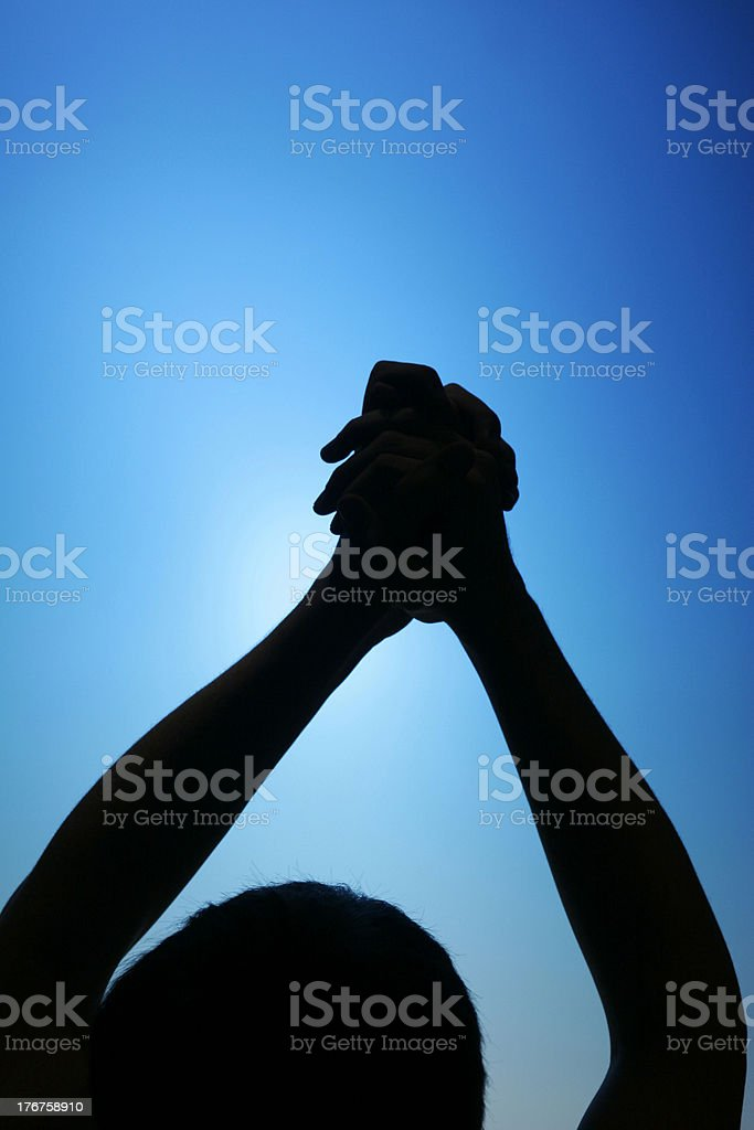 Signs and Symbols of Success and Winning stock photo