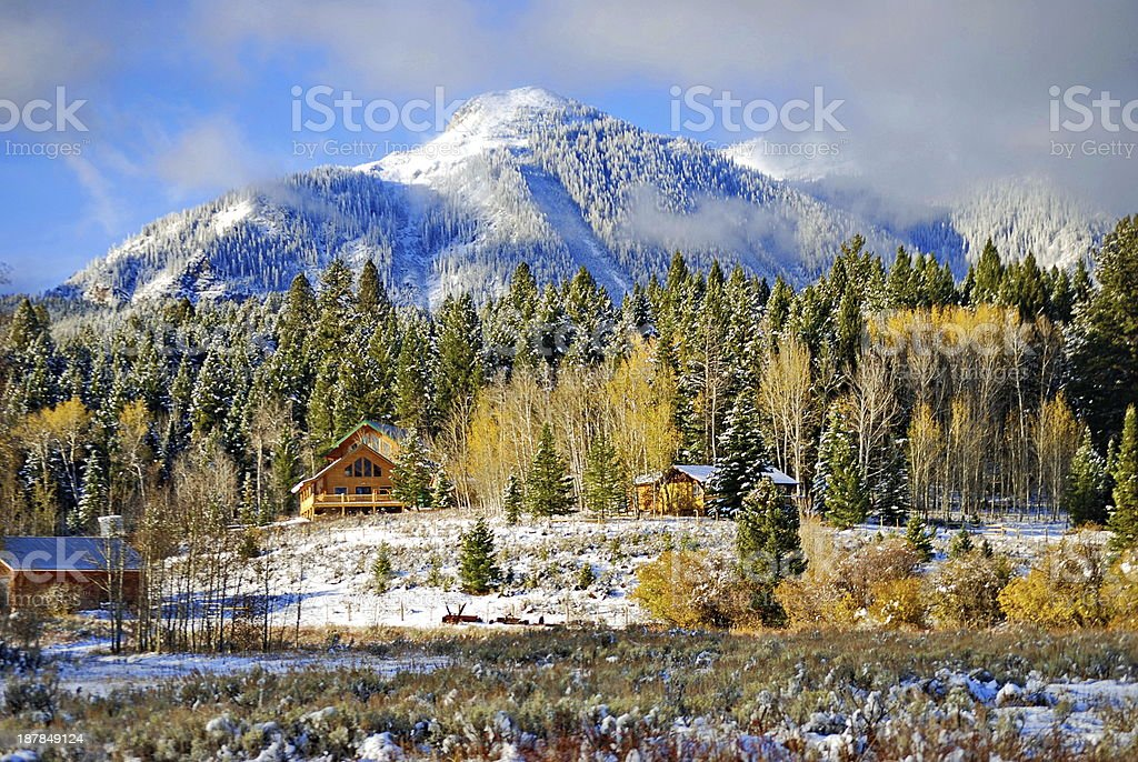 Signs of Winter royalty-free stock photo