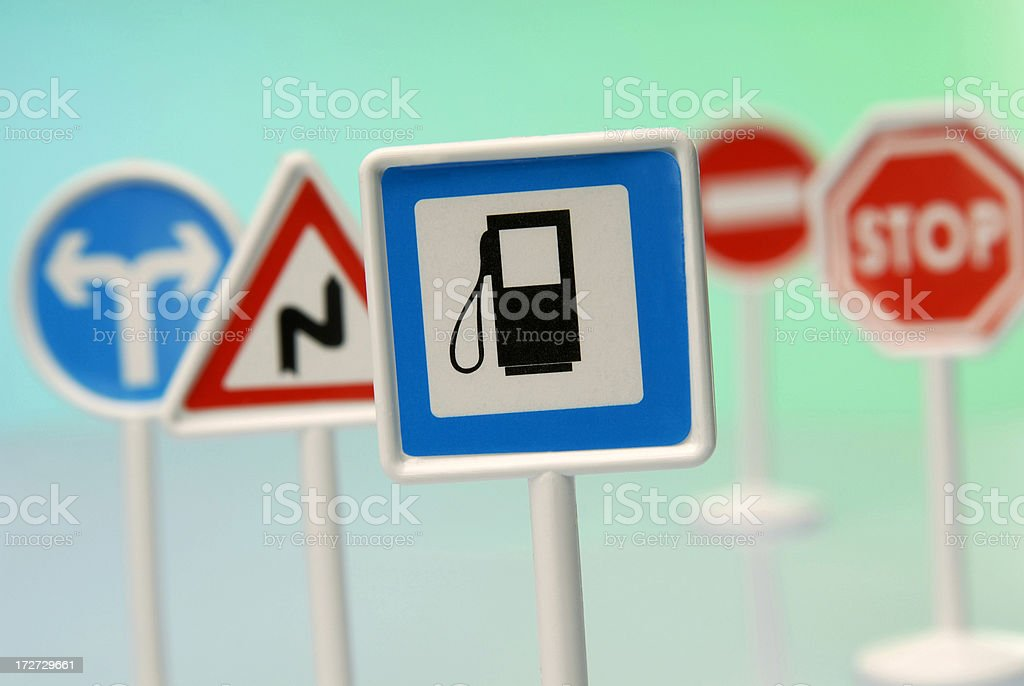 signs stock photo