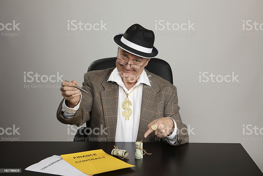 Sign-up for the money stock photo
