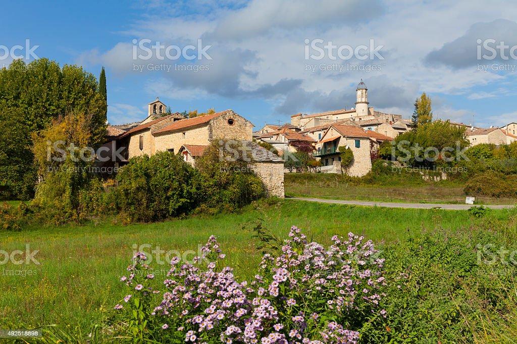 Sigonce, France stock photo