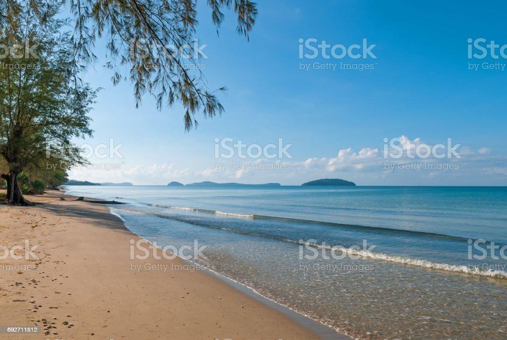 Sihanoukville Beach stock photo