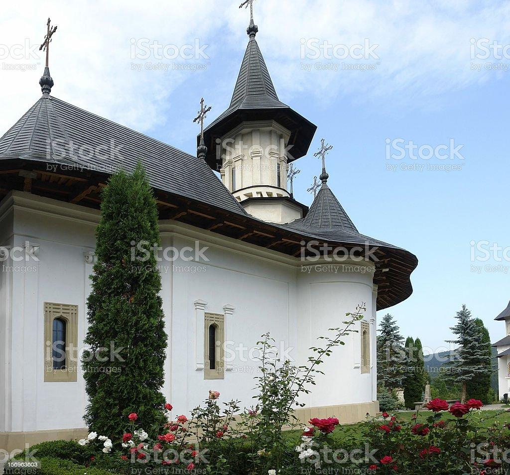 Sihastria Monastery stock photo