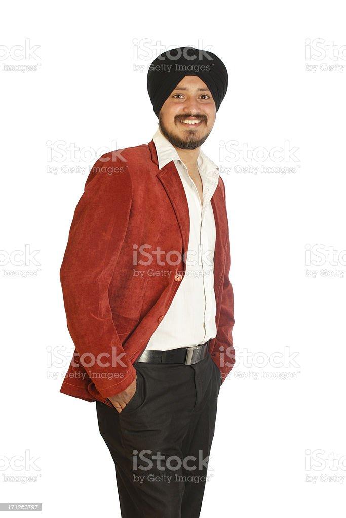 Sikh Businessman royalty-free stock photo