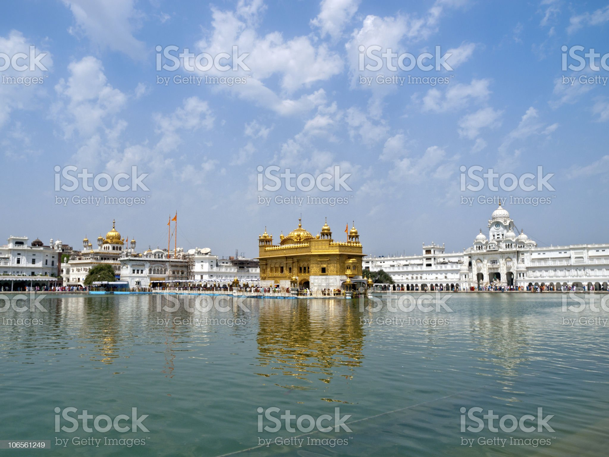Sikh Golden Temple royalty-free stock photo