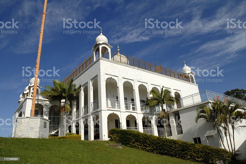 Sikh Temple royalty-free stock photo