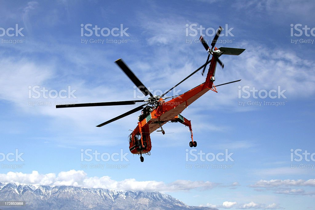 Sikorsky  Helicopter stock photo