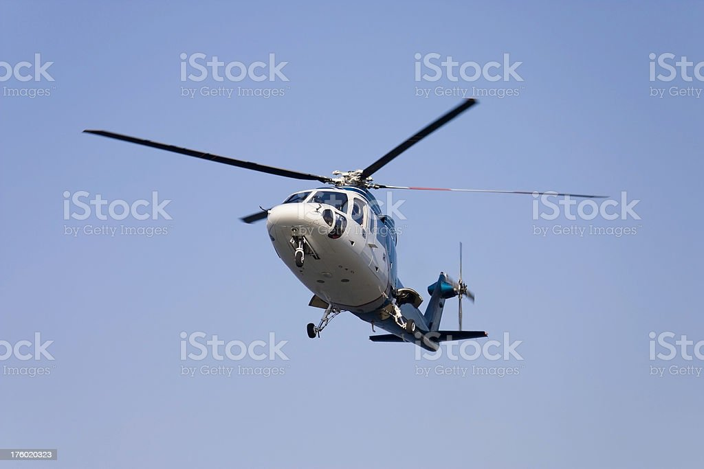 Sikorsky S-76 Helicopter stock photo
