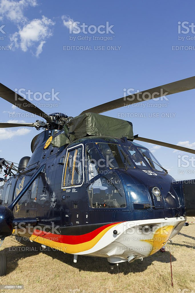 Sikorsky Sea King helicopter royalty-free stock photo