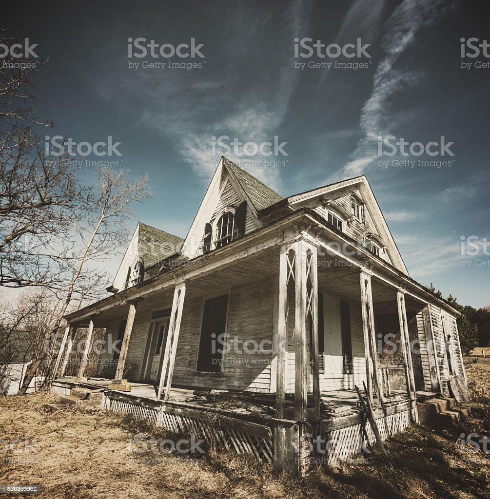 Silence on the Farm stock photo