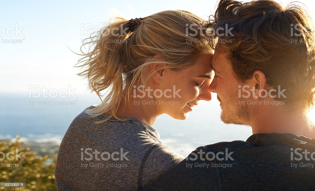 Silence speaks a thousand words stock photo