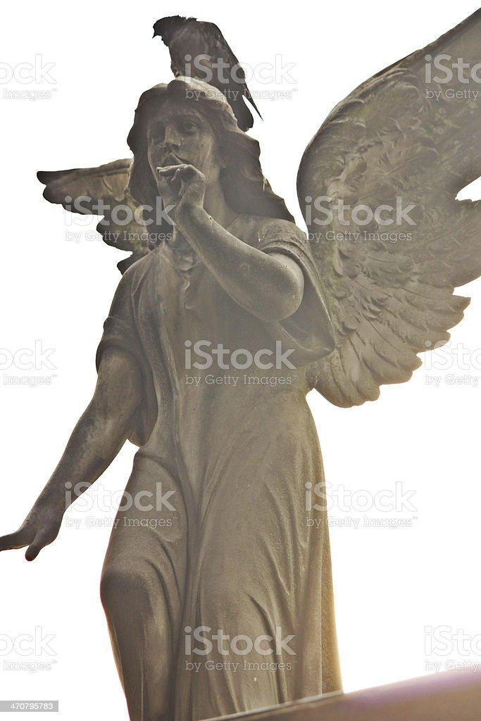 Silent angel photo libre de droits