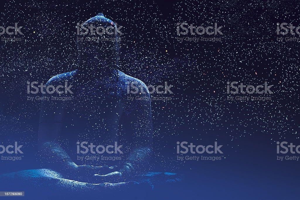 Silent Buddha royalty-free stock photo