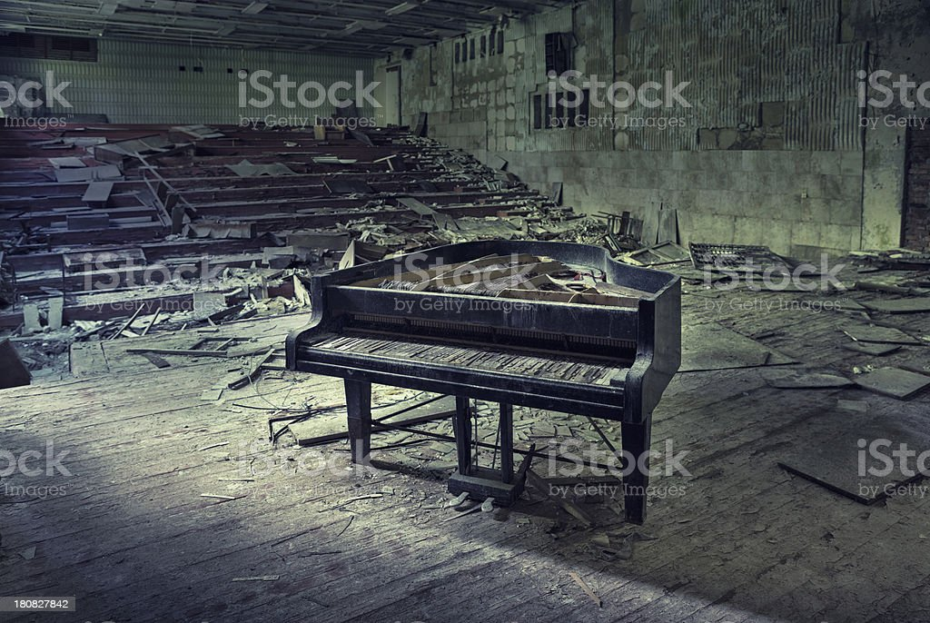 Silent Concert stock photo
