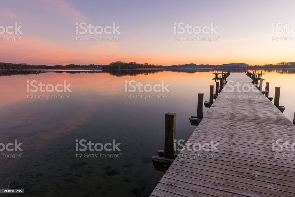Silent Lake 2 stock photo