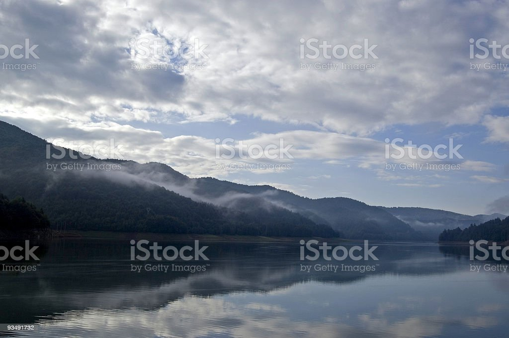 Silent morning stock photo